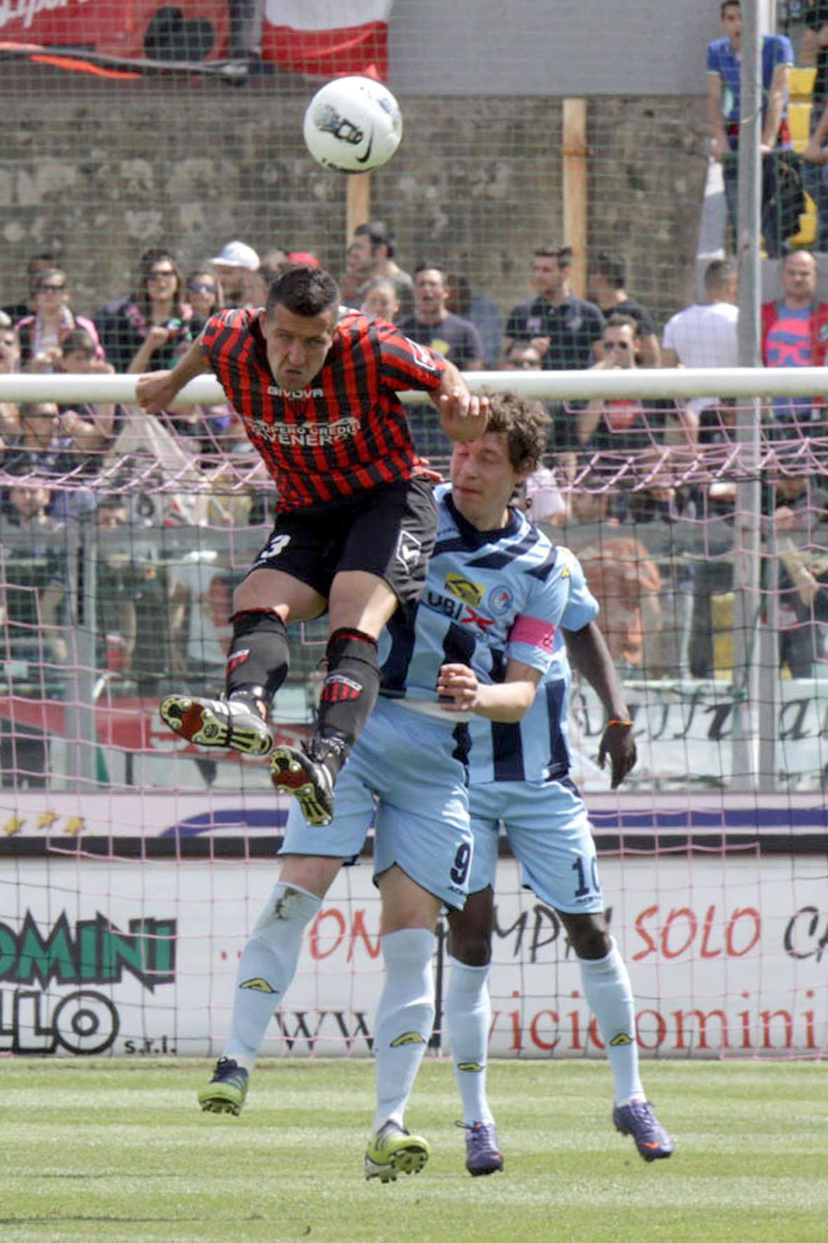 Albinoleffe sconfitto anche a Nocera