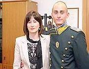 Antonino Schifani e la madre Rosaria Costa