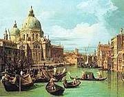 Il canal grande di Canaletto