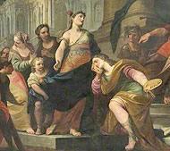 Il quadro «Apelles and Campaspe»