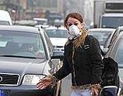 Un tentativo di proteggersi dallo smog