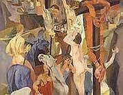 La «Crocefissione» di Guttuso