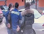 L'arresto del presunto stupratore