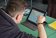 Studenti con l'iPad