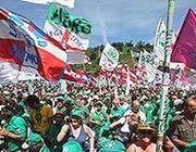 Il raduno Lega
