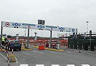 Uno dei parcheggi dell'aeroporto di Orio al Serio