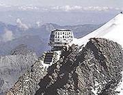 Il rifugio sul Monte Bianco