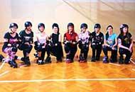 La squadra di roller derby