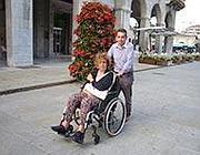La signora Valeriana con il marito