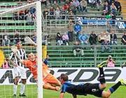 Il primo gol di Denis