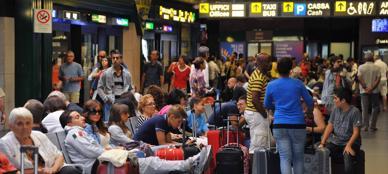 Uno scorcio dell'aeroporto di Orio al Serio