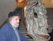 Lo scultore Mario Toffetti