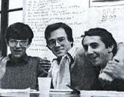Da sinistra Marco Fumagalli, Paolo Boselli e Cristiano Gatti