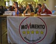 Un incontro del Movimento 5 Stelle
