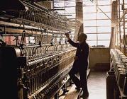 Lavoro con vecchio telaio