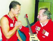Michael Schumacher e Giulio Carissimi