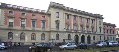 L'ingresso degli ex ospedali