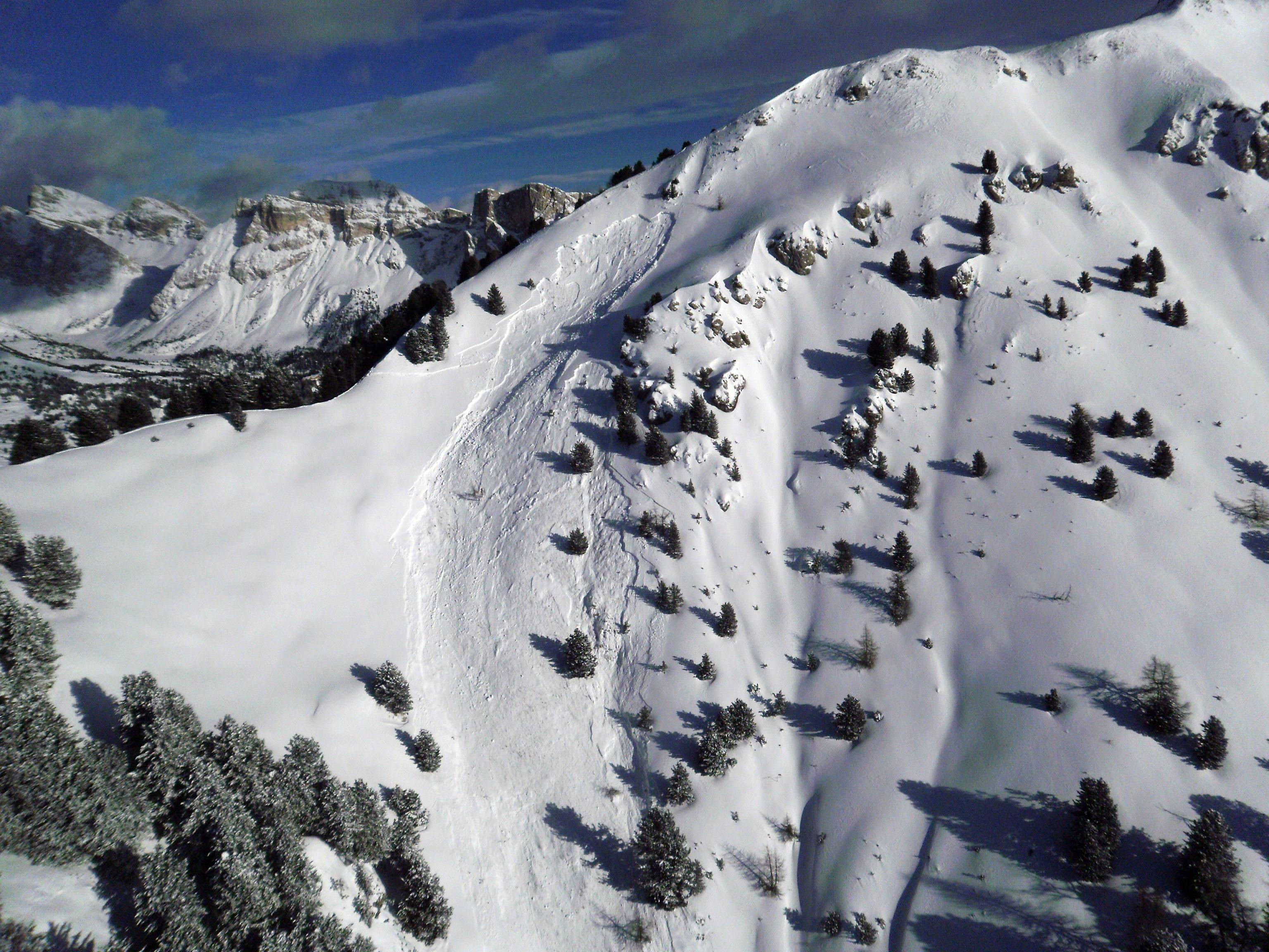 Montagne a rischio valanghe