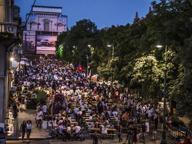 Bergamo, in ventimila sul Sentierone per l'amatriciana a favore dei terremotati