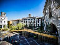 «Maestri del Paesaggio, la passerella è fuori luogo»: Piazza Vecchia divide