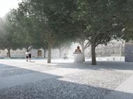Un salotto per l'ingresso alla Carrara Piazzale Alpini, tutto da rifare