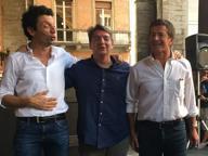 Gori e la band dei sindaci musicisti: show in piazza a Cremona