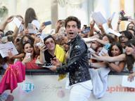 Mika lancia un pigiama party in Piazza Vecchia