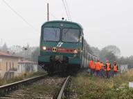 Arcene, muore travolto da un treno Bloccata la Bergamo-Treviglio