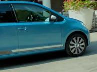 Volkswagen, l'omaggio a Bergamo In anteprima lo spot della Up girato in città