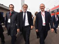 Viaggio prova per il ministro Delrio sull'Alta velocità Treviglio-Brescia