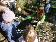 Parco Turani: giochi, scivoli e l'orto (che adesso va a nanna)